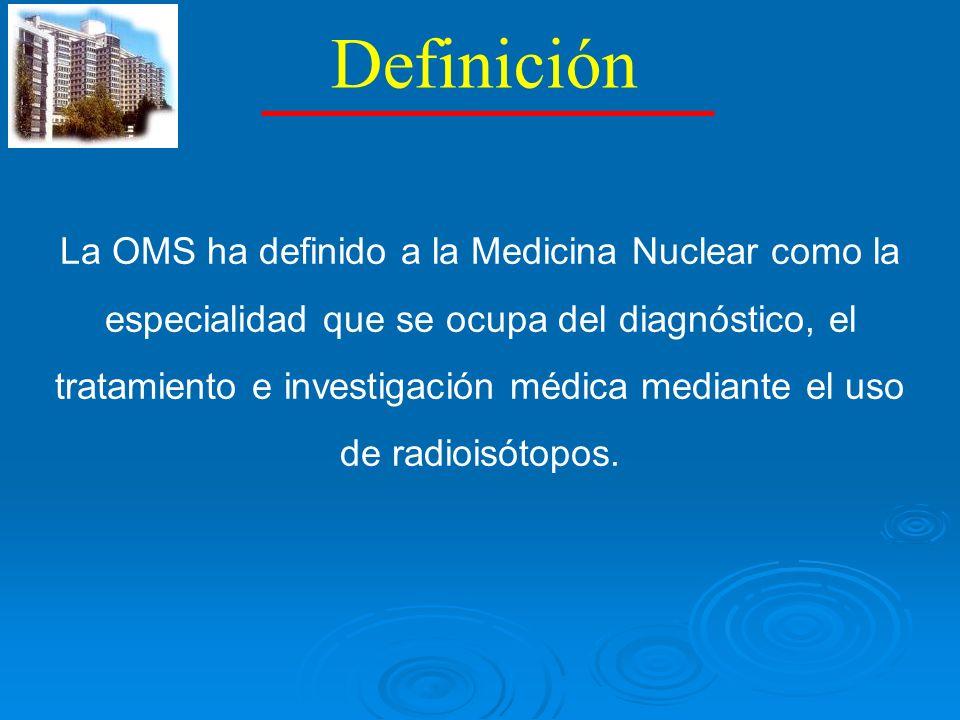 GENERADOR Tecnecio 99m RI ideal en medicina nuclear.