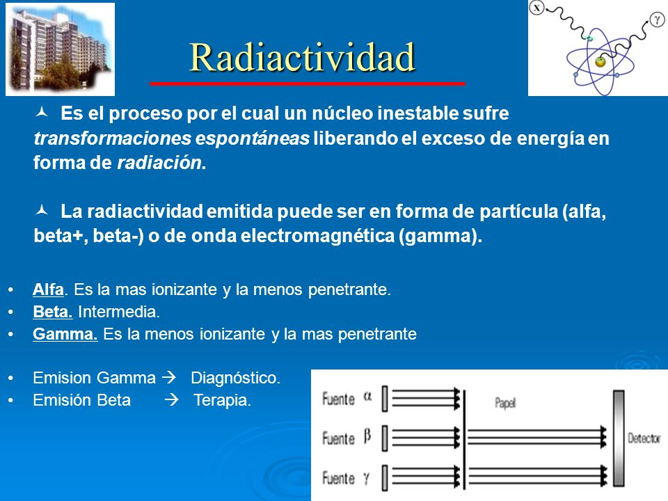 Conceptos MEDICINA NUCLEAR RADIOTRAZADORES INSTRUMENTACIÓN