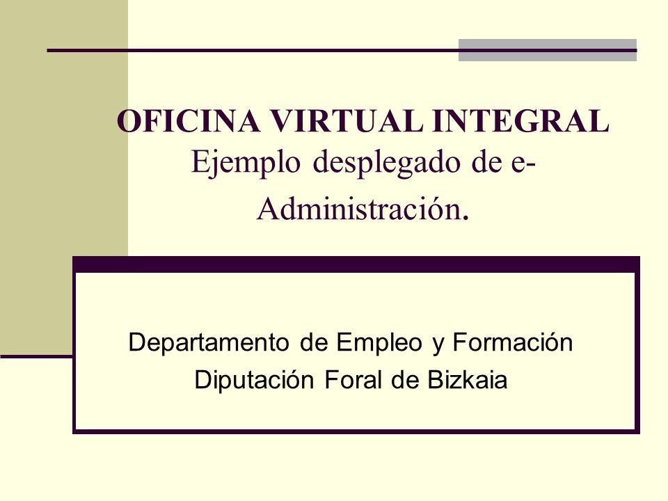 Recordando…nuestra misión.Nos dedicamos a: Promoción del empleo en Bizkaia.