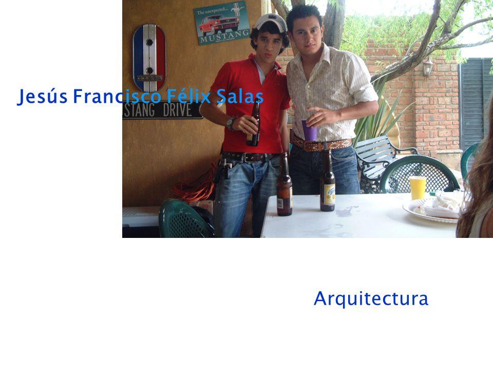 Jesús Francisco Félix Salas Arquitectura