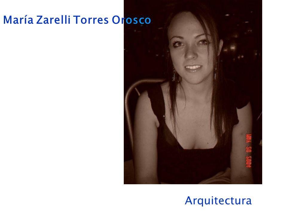 María Zarelli Torres Orosco Arquitectura
