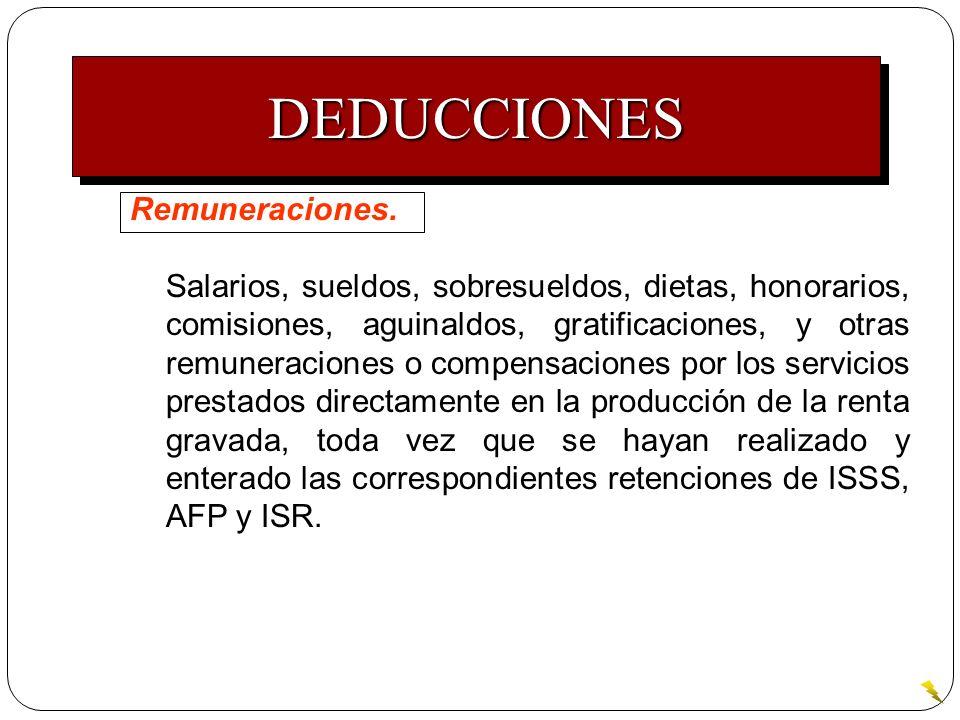 Remuneraciones. Salarios, sueldos, sobresueldos, dietas, honorarios, comisiones, aguinaldos, gratificaciones, y otras remuneraciones o compensaciones