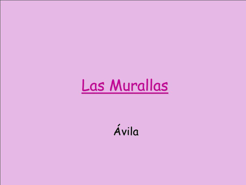 Las Murallas Ávila