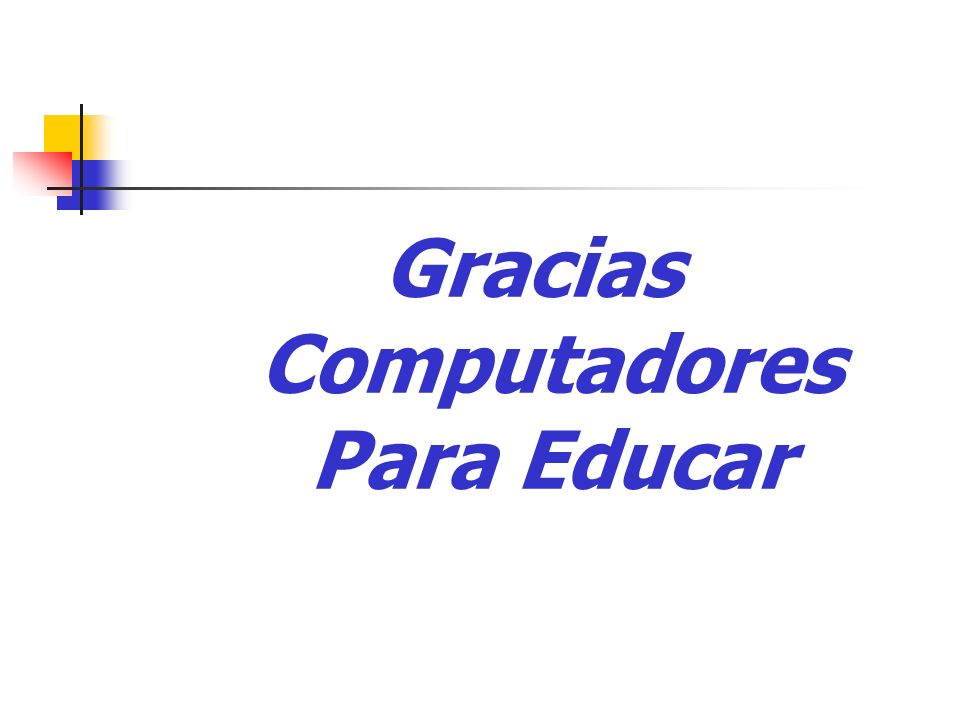 Gracias Computadores Para Educar