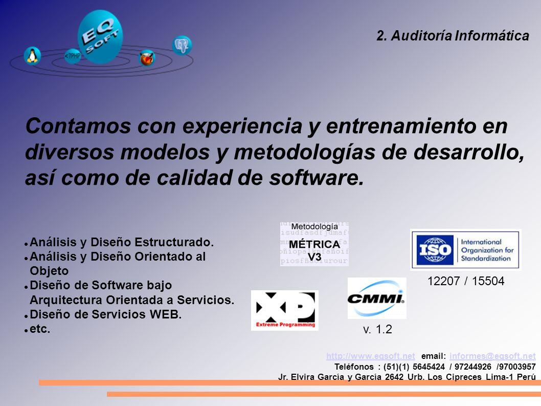 http://www.eqsoft.nethttp://www.eqsoft.net email: informes@eqsoft.netinformes@eqsoft.net Teléfonos : (51)(1) 5645424 / 97244926 /97003957 Jr.