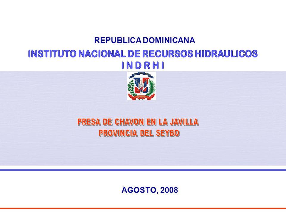 REPUBLICA DOMINICANA AGOSTO, 2008