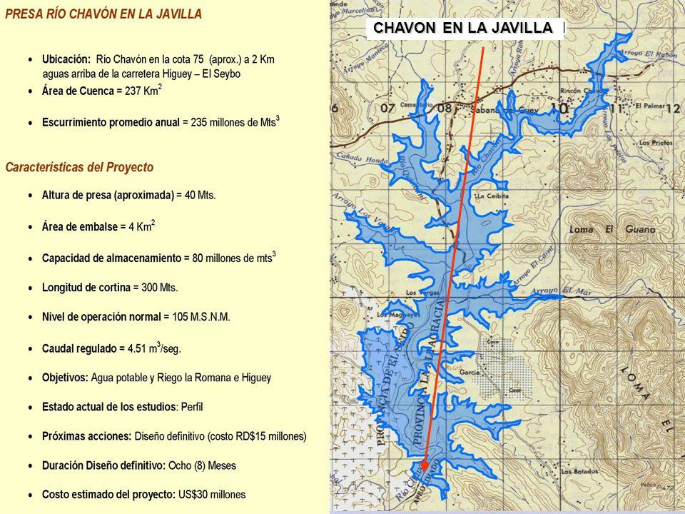 5.3 PROYECTO DE PRESA CHAVON EN LA JAVILLA