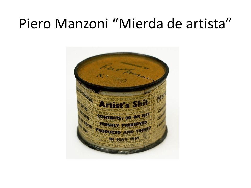 Piero Manzoni Mierda de artista