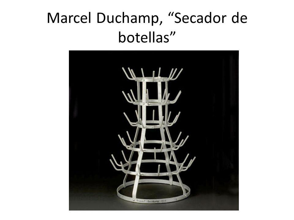 Marcel Duchamp, Secador de botellas