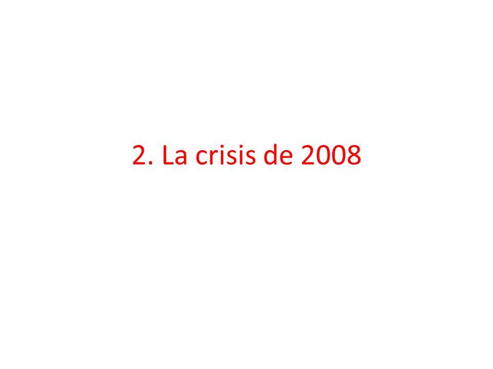 2. La crisis de 2008