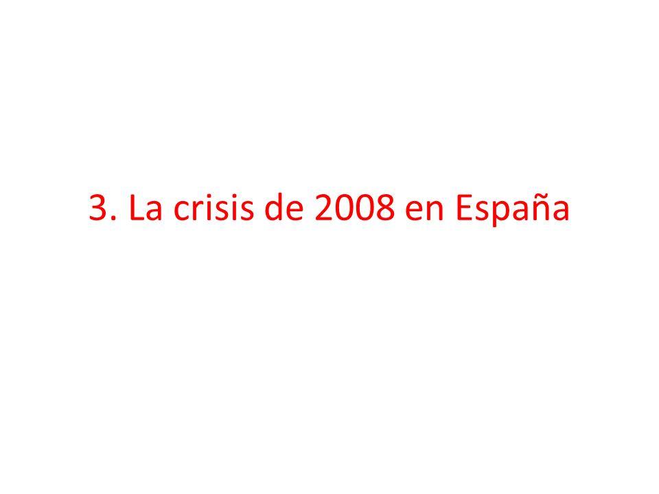 3. La crisis de 2008 en España