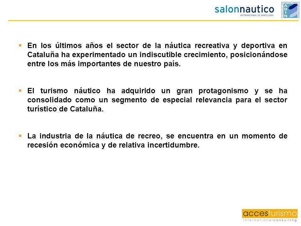 En los últimos años el sector de la náutica recreativa y deportiva en Cataluña ha experimentado un indiscutible crecimiento, posicionándose entre los