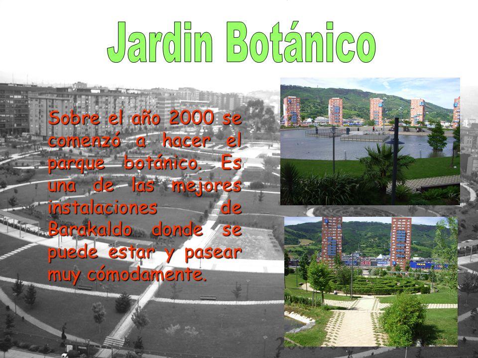 Sobre el año 2000 se comenzó a hacer el parque botánico.