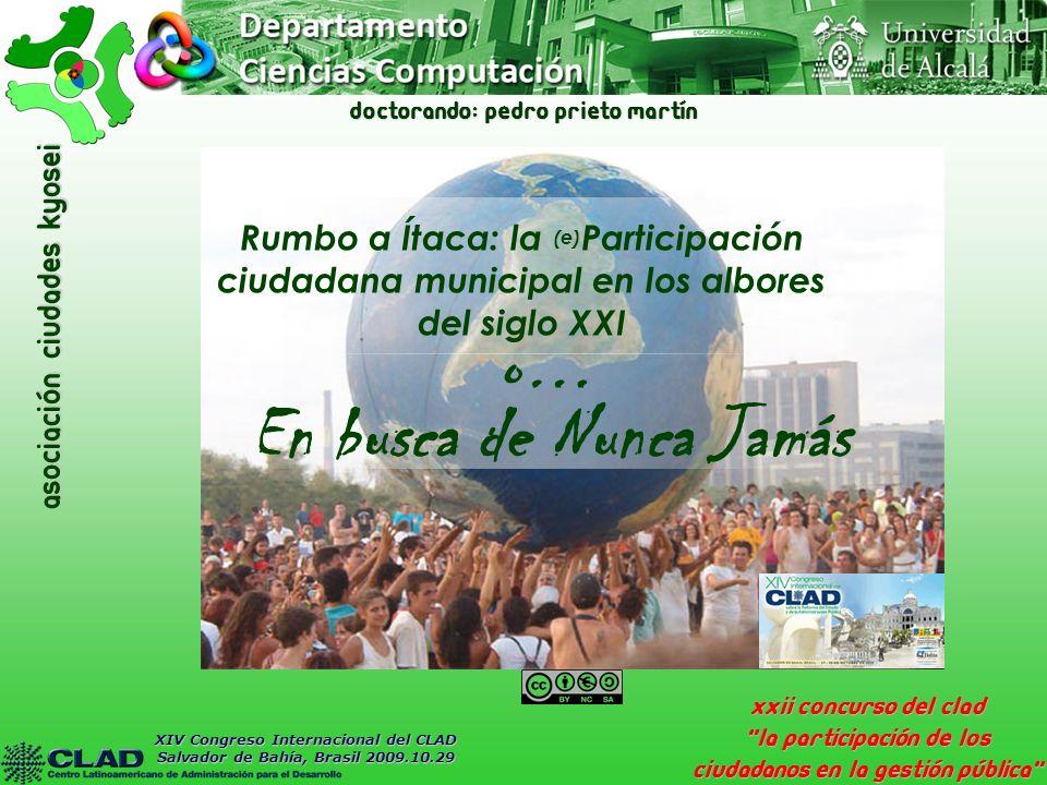 asociación Ciudades Kyosei Mérida-Kyosei: e-alianza municipal por el bien común Sostenibilidad y replicabilidad VI.
