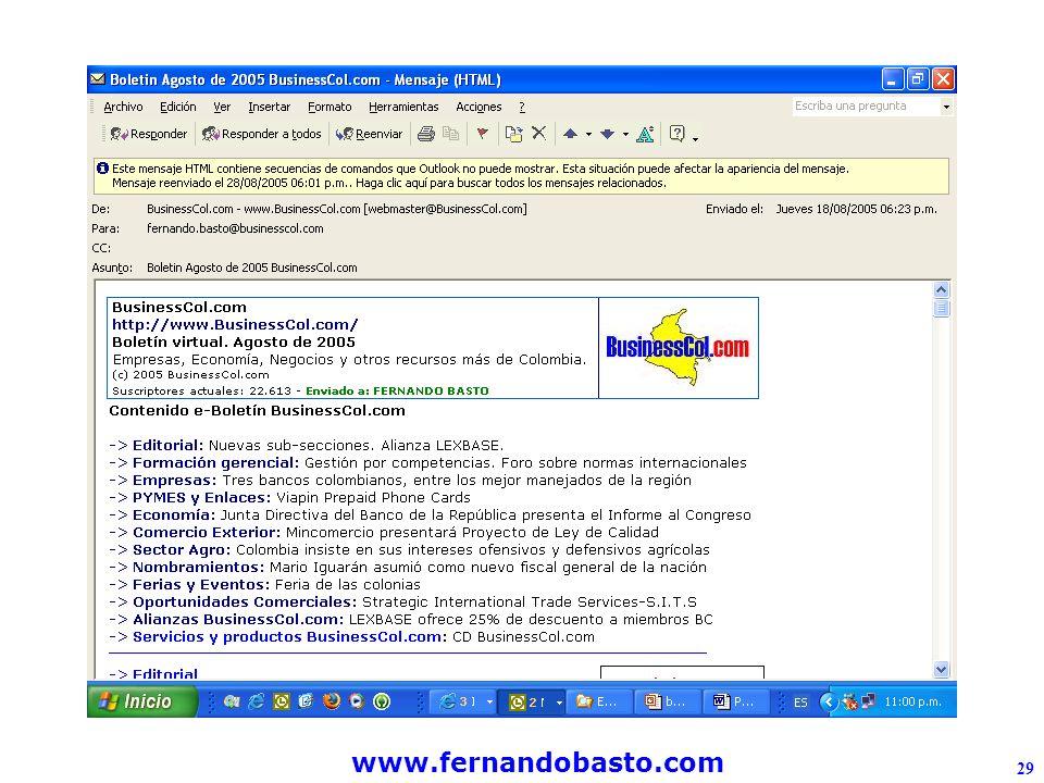 www.fernandobasto.com 29