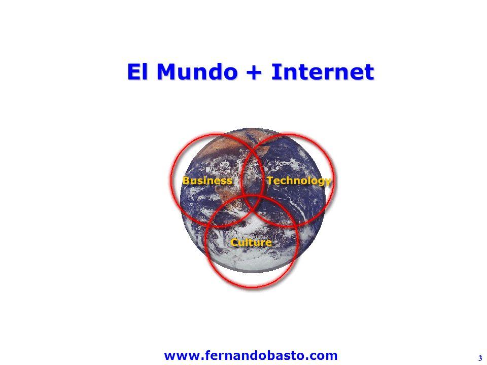 www.fernandobasto.com 3 El Mundo + Internet