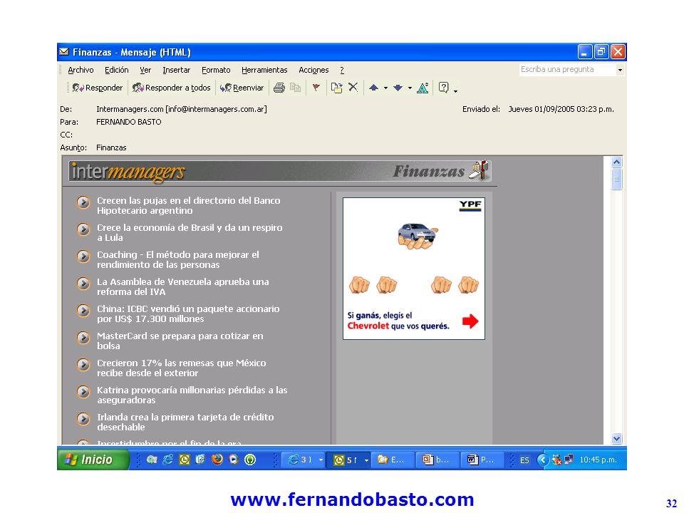 www.fernandobasto.com 32