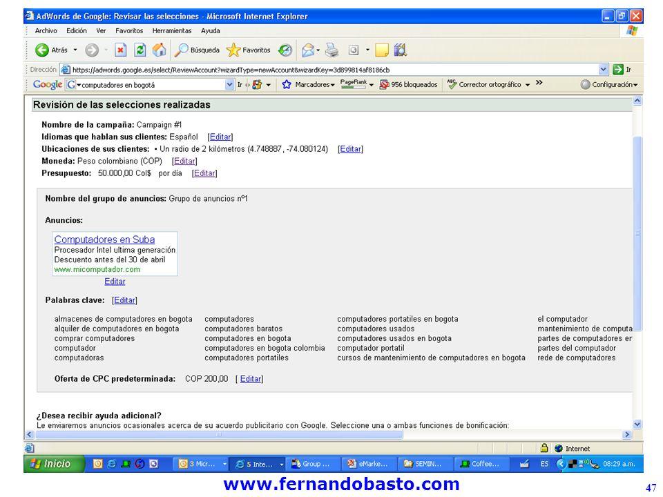 www.fernandobasto.com 47