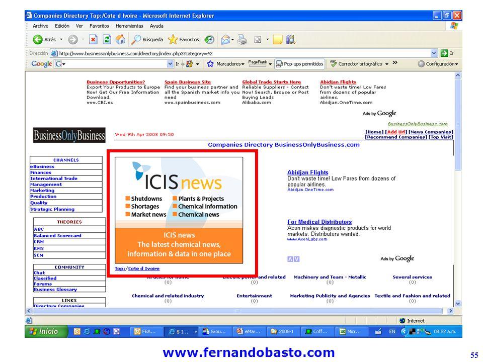 www.fernandobasto.com 55