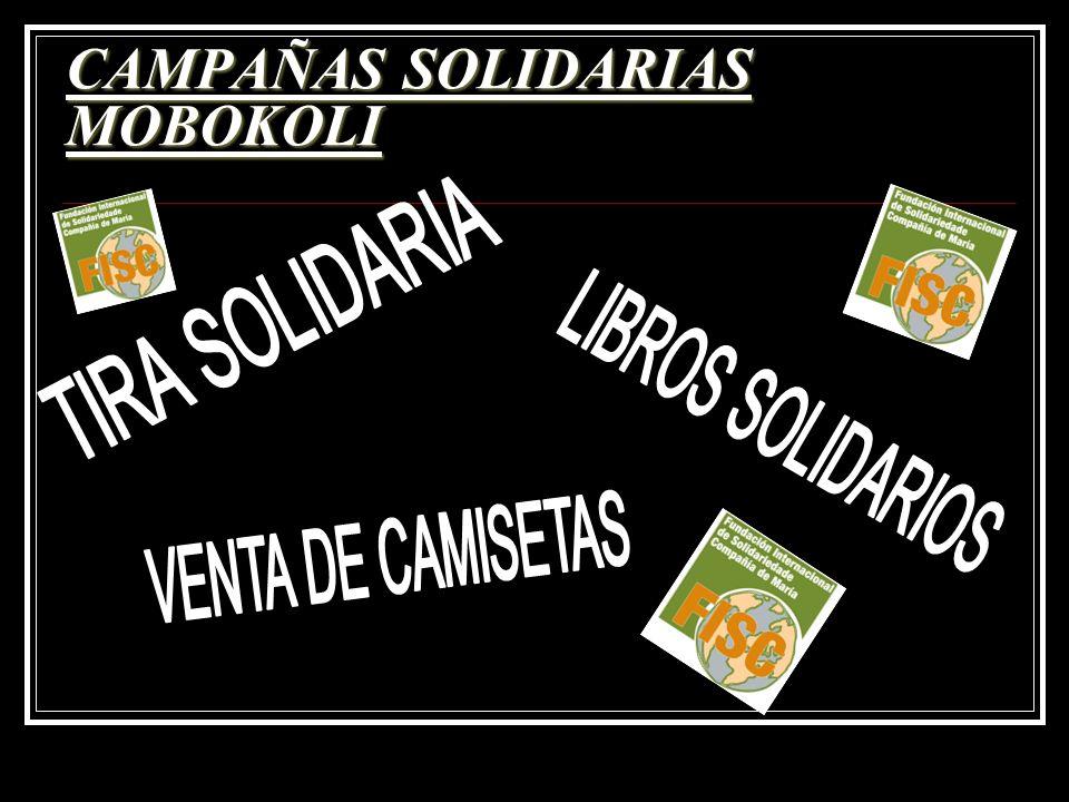 CAMPAÑAS SOLIDARIAS MOBOKOLI