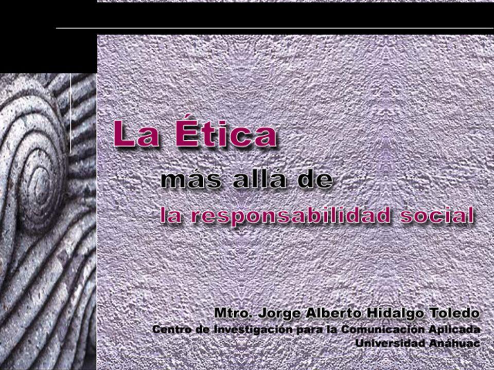 Mtro. Jorge Alberto Hidalgo Toledo Centro de Investigación para la Comunicación Aplicada Universidad Anáhuac