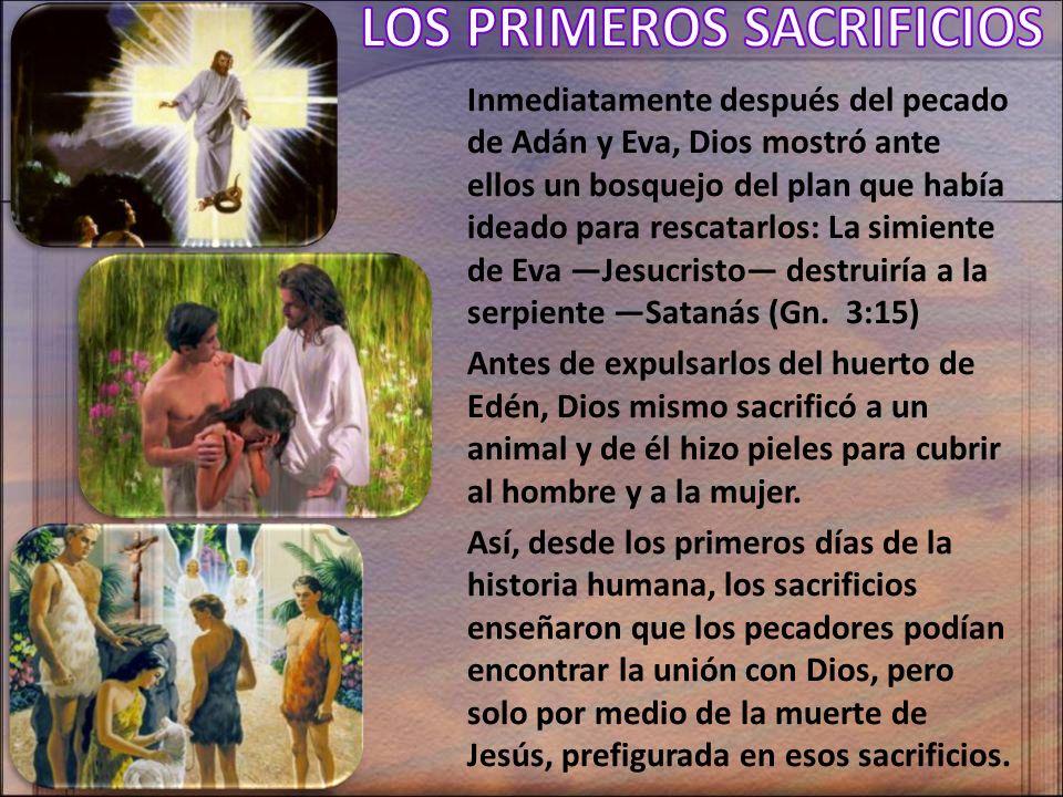 Inmediatamente después del pecado de Adán y Eva, Dios mostró ante ellos un bosquejo del plan que había ideado para rescatarlos: La simiente de Eva Jes