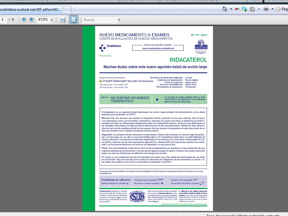 38 Prescripción de genéricos por servicios y por hospitales