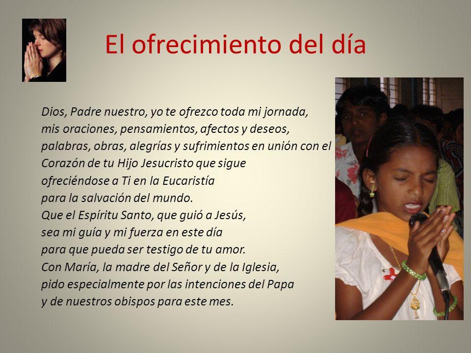 nuestra riqueza: El Corazón de Jésus La Eucaristía Las intenciones del Papa