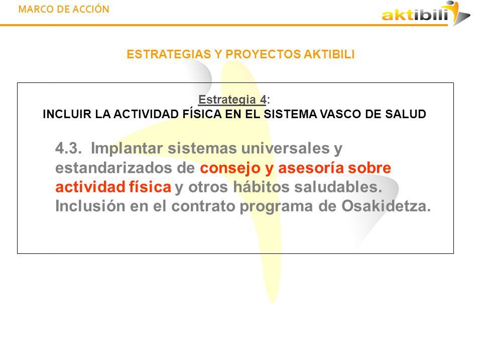 MARCO DE ACCIÓN ESTRATEGIAS Y PROYECTOS AKTIBILI 4.4.