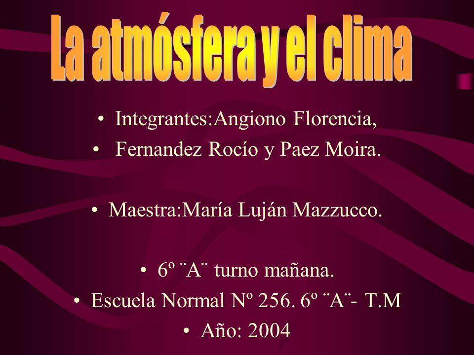 Integrantes:Angiono Florencia, Fernandez Rocío y Paez Moira.