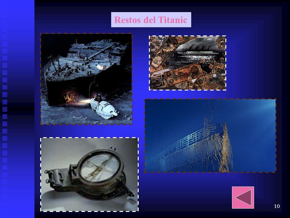 9 Orquesta contratada por elTitanic Edward J Smith capitán del Titanic, que estaba a punto de retirarse La unica foto considerada real sala de radio d