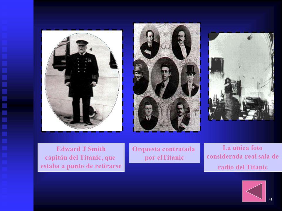 8 Cronología del desastre Iceberg contra el que va a chocar el Titanic