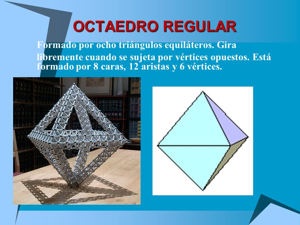 SOBRE TETRAEDROS Fíjate en estas cosas tan interesantes Tiene cuatro caras Cada cara tiene tres aristas, y es de hecho un Triángulo Equilátero Tiene s