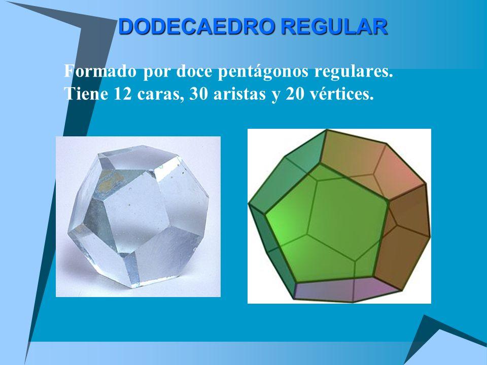 Hechos sobre el cubo (hexaedro) Fíjate en estas cosas tan interesantes: Tiene 6 caras Cada cara tiene 4 aristas, y es de hecho un cuadrado Tiene 12 ar