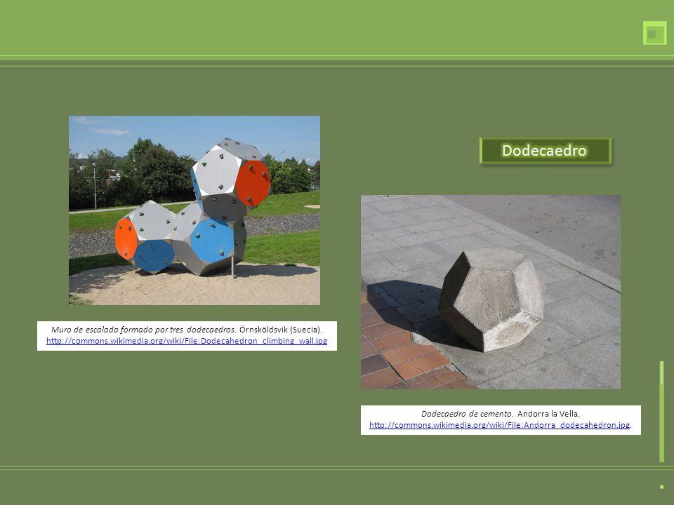 Dodecaedro de cemento.Andorra la Vella.