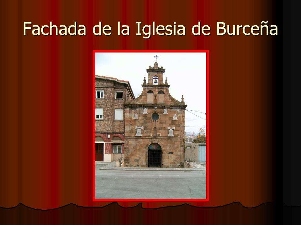 Fachada de la Iglesia de Burceña
