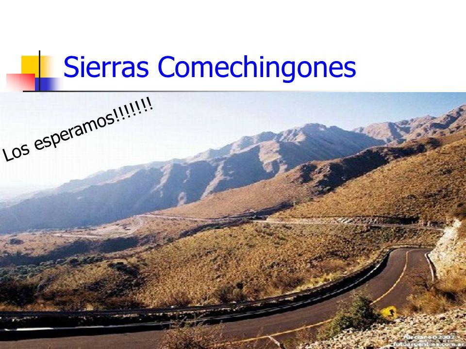 Sierras Comechingones Los esperamos!!!!!!!