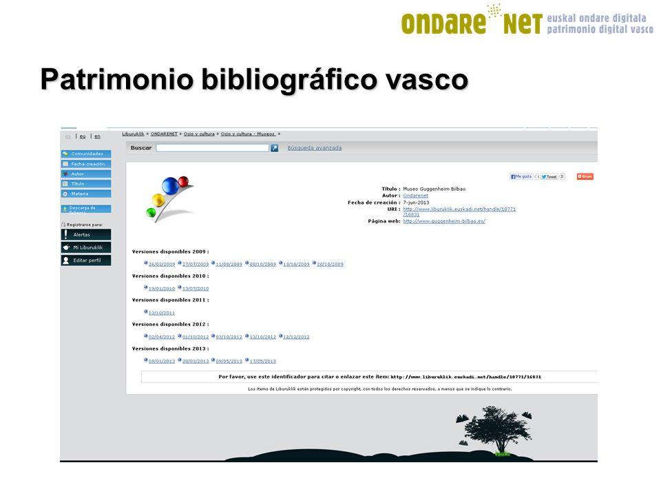 Patrimonio bibliográfico vasco