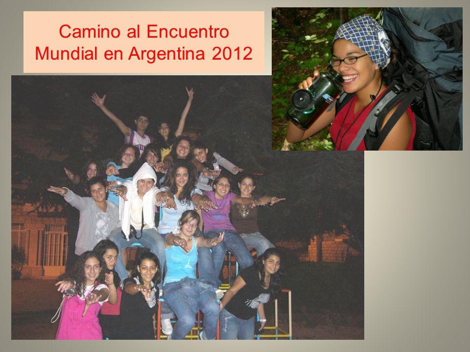 Camino al Encuentro Mundial en Argentina 2012