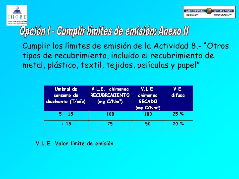 El objetivo del sistema de reducción es dar al titular la oportunidad de lograr, utilizando otros medios, reducciones de emisión equivalentes a las logradas si se aplican los valores límite de emisión del Anexo II.