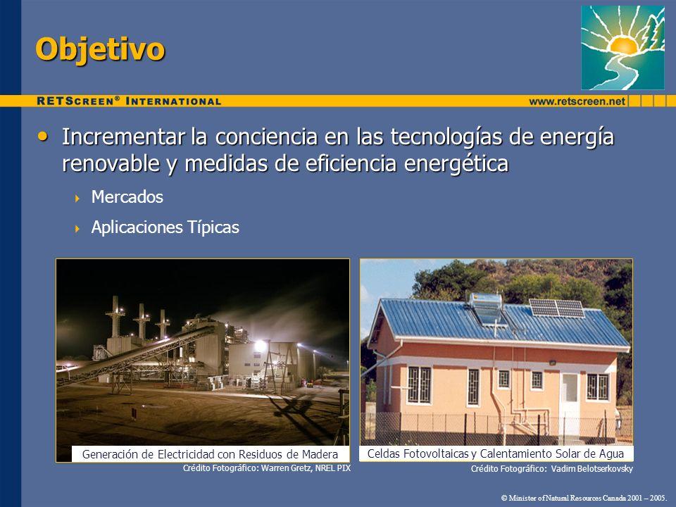 Generación de Electricidad con Residuos de Madera Objetivo Incrementar la conciencia en las tecnologías de energía renovable y medidas de eficiencia e