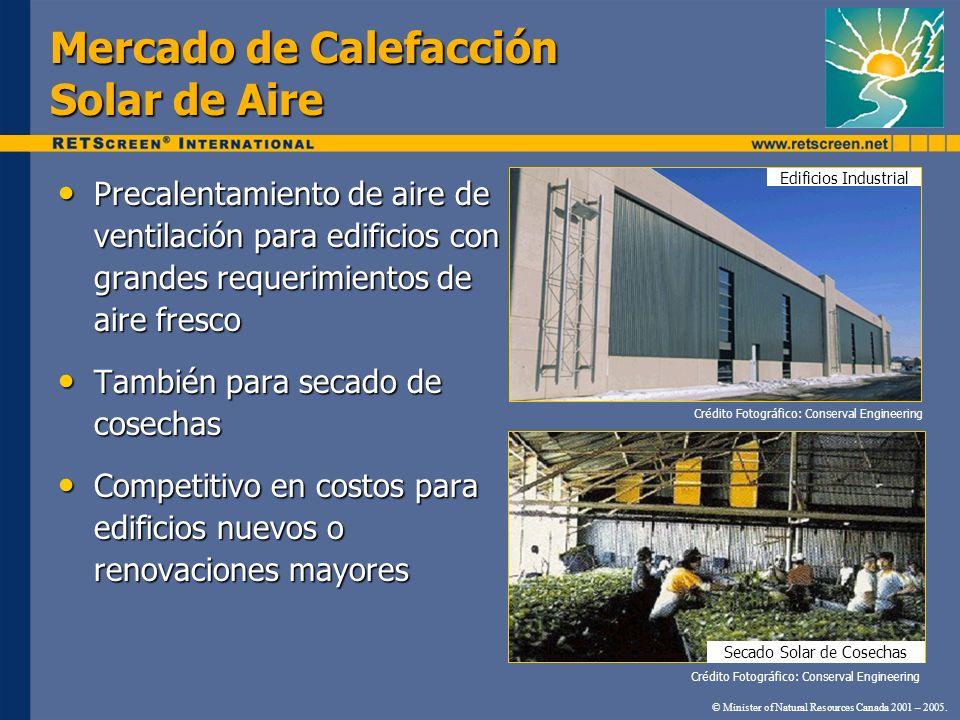 Precalentamiento de aire de ventilación para edificios con grandes requerimientos de aire fresco Precalentamiento de aire de ventilación para edificio