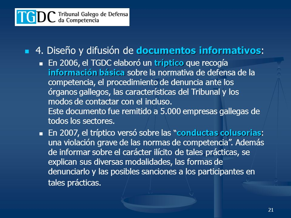 21 documentos informativos 4.