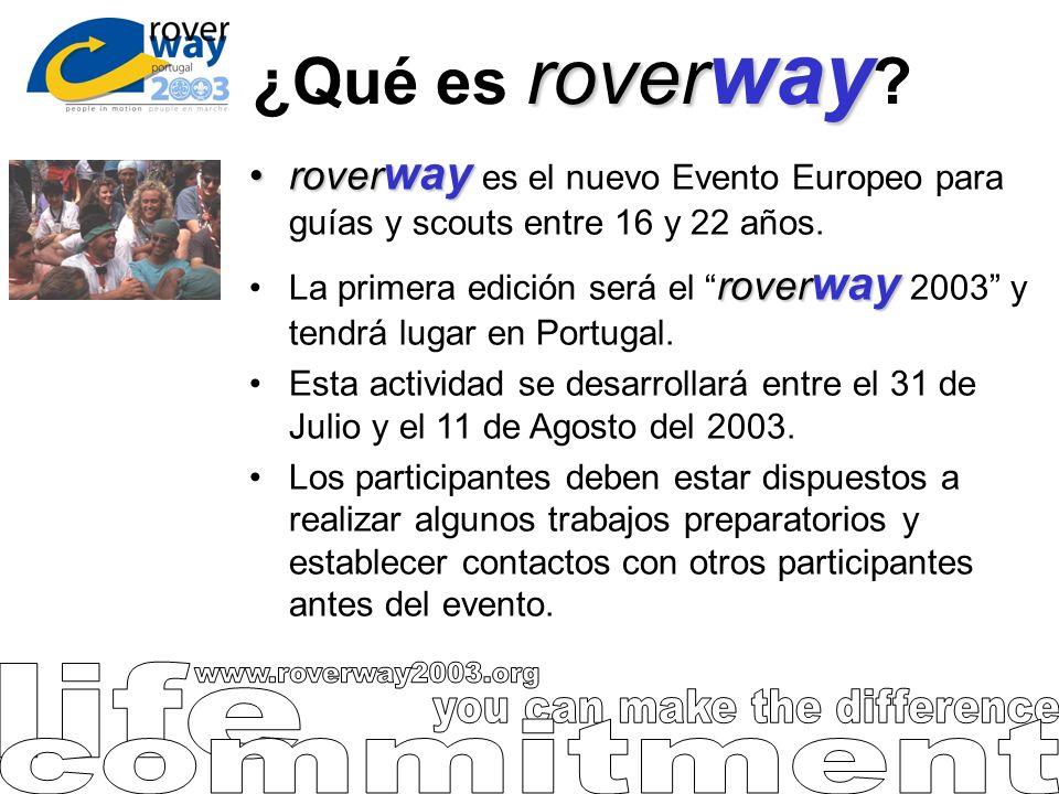 rover way ¿Qué es rover way ? rover wayrover way es el nuevo Evento Europeo para guías y scouts entre 16 y 22 años. rover wayLa primera edición será e
