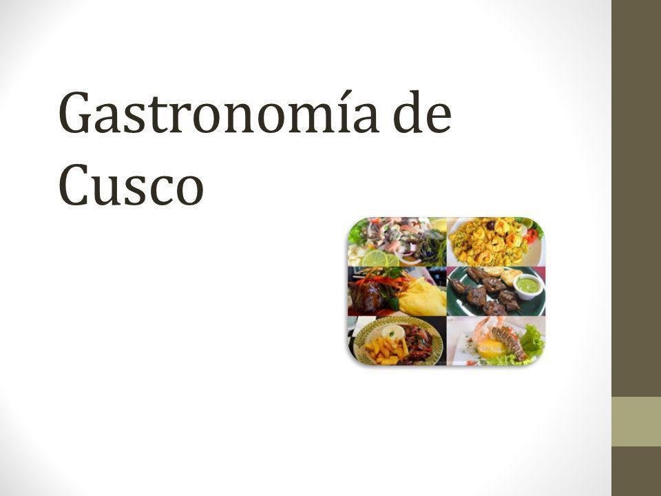 Gastronomía de Cusco