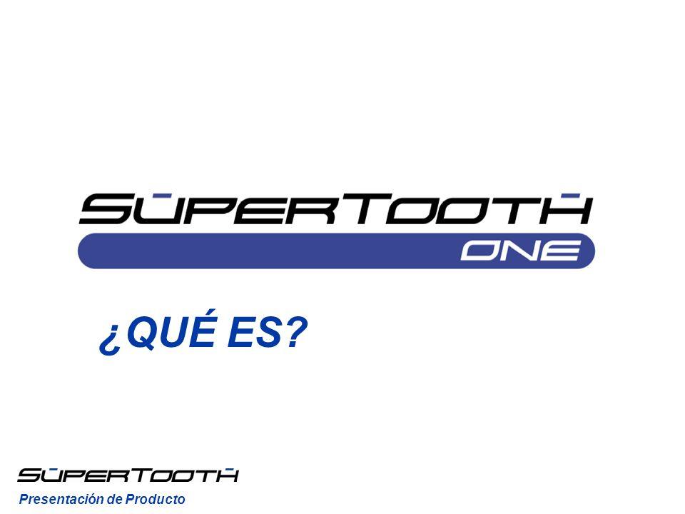 El SuperTooth One es un kit manos libres Bluetooth sin instalación para coche.