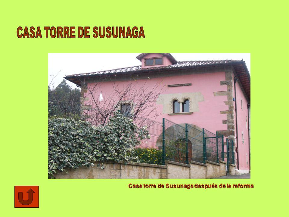 Casa torre de Susunaga después de la reforma