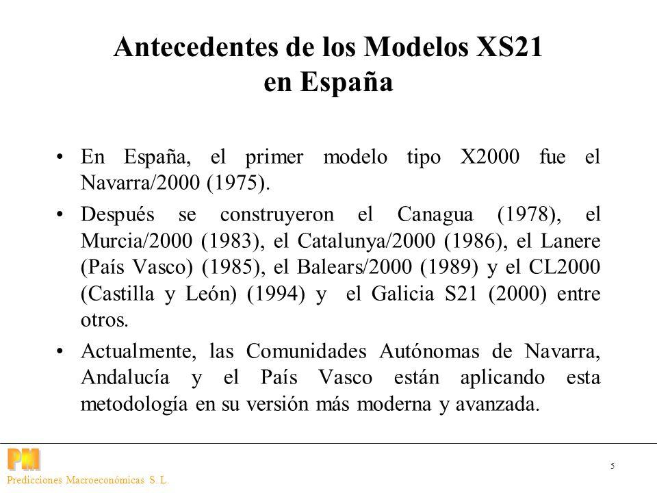 5 Predicciones Macroeconómicas S. L. En España, el primer modelo tipo X2000 fue el Navarra/2000 (1975). Después se construyeron el Canagua (1978), el