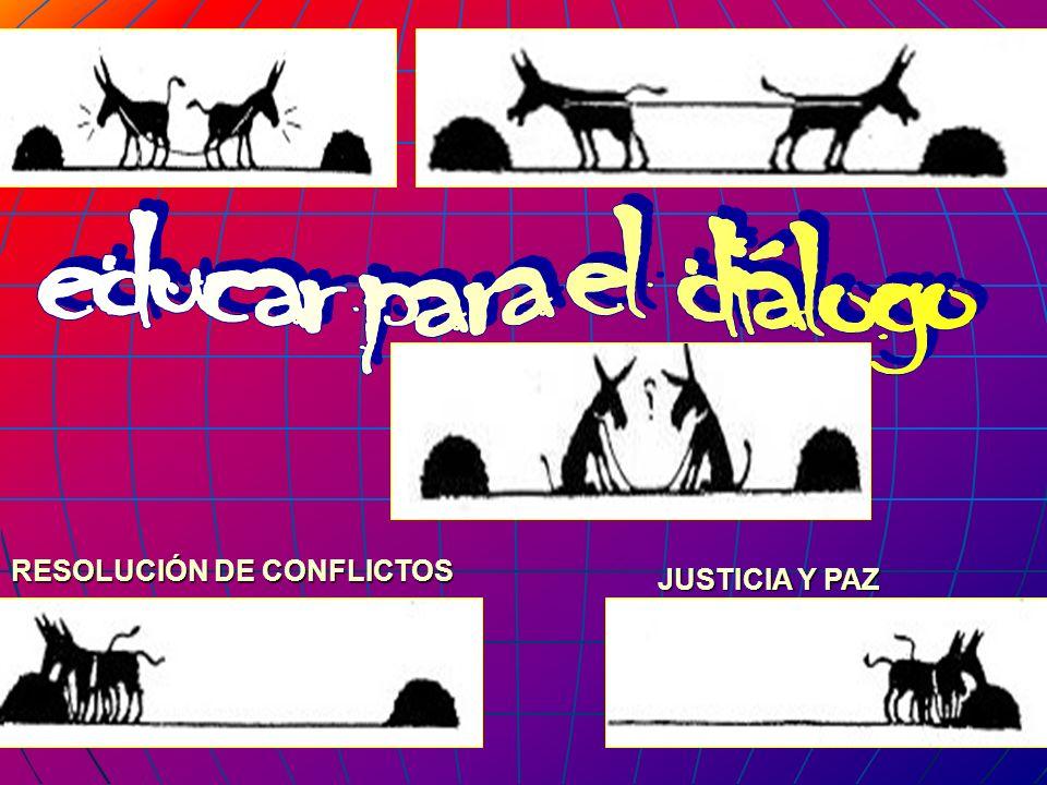 RESOLUCIÓN DE CONFLICTOS JUSTICIA Y PAZ